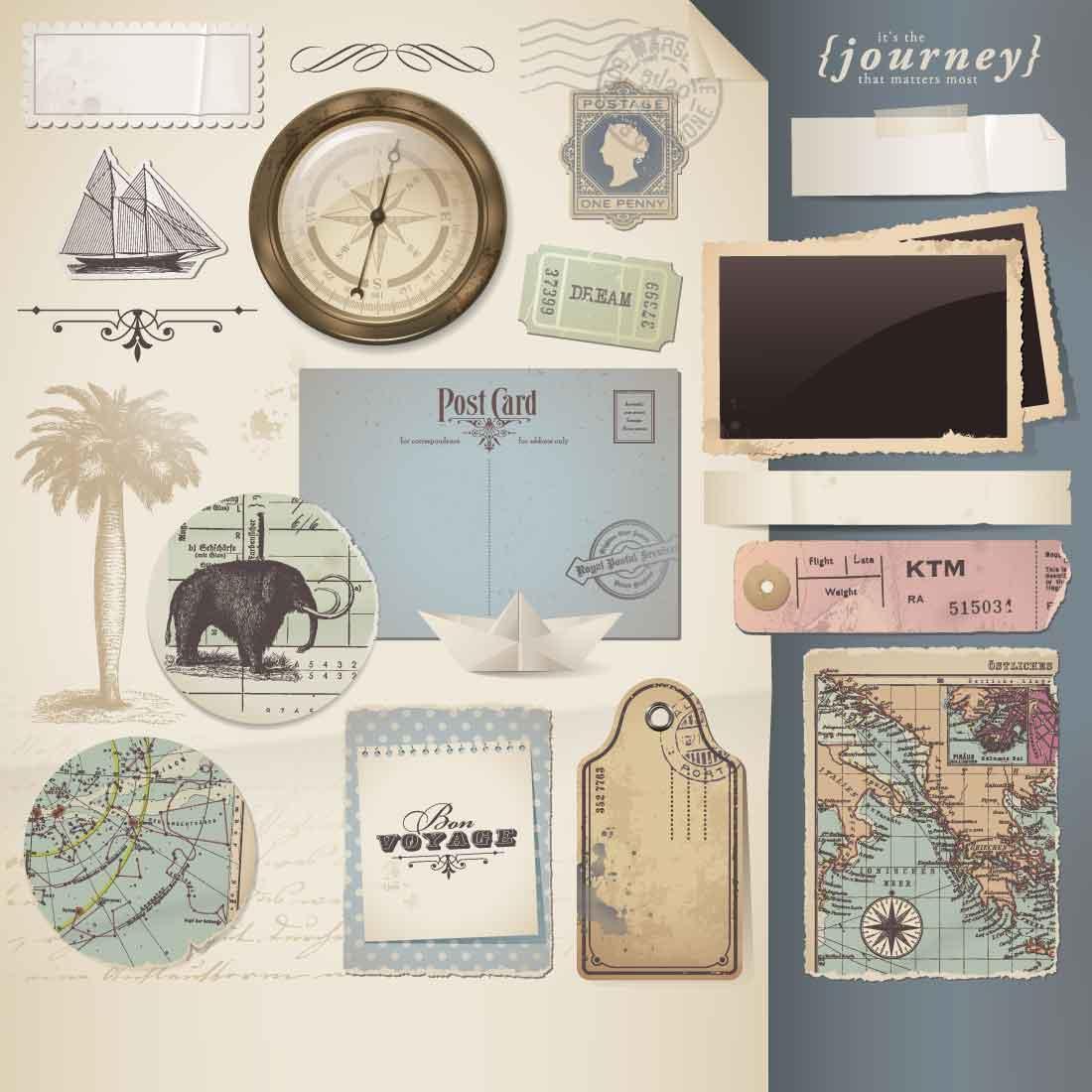 Designs für das Scrapbooking