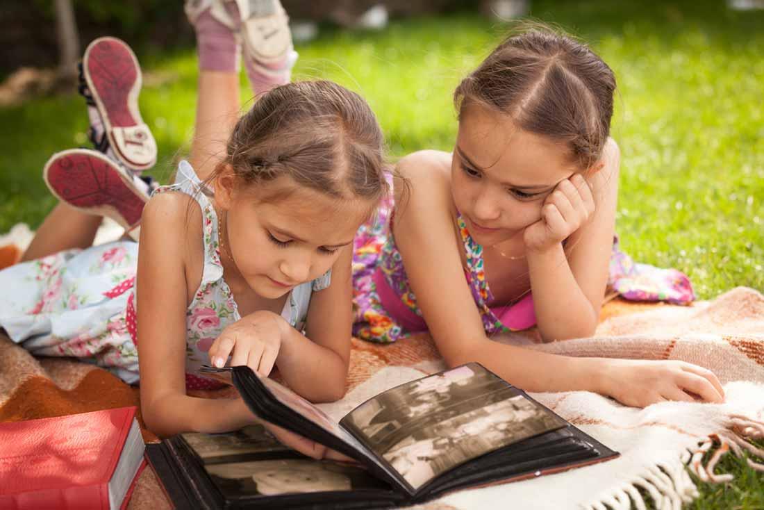 Familiendokumentation für die Kinder