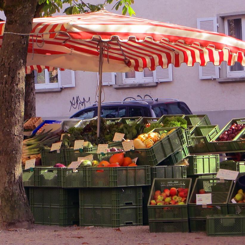 Feedback zum Gallus Verlag auf dem Markt in Freiburg